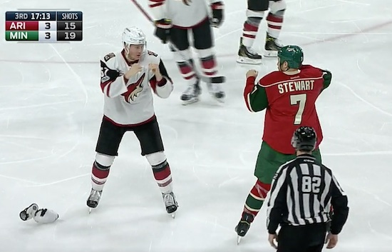 Who Doesn't Love A Good Hockey Fight