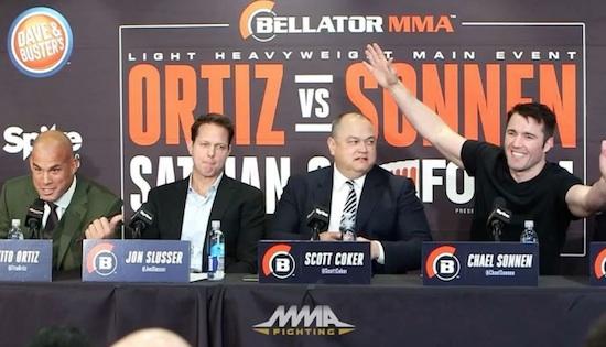 Savage Chael Sonnen Destroys Tito Ortiz In Presser