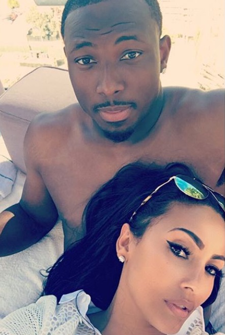 LeSean McCoy is Enjoying a Baecation with Marcus Vick's Baby Mama
