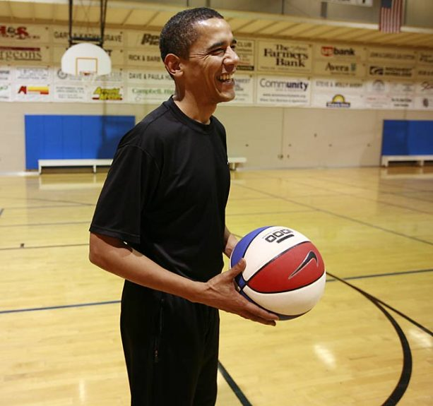 On his Last Day, Here is Obama's Hoops Mixtape