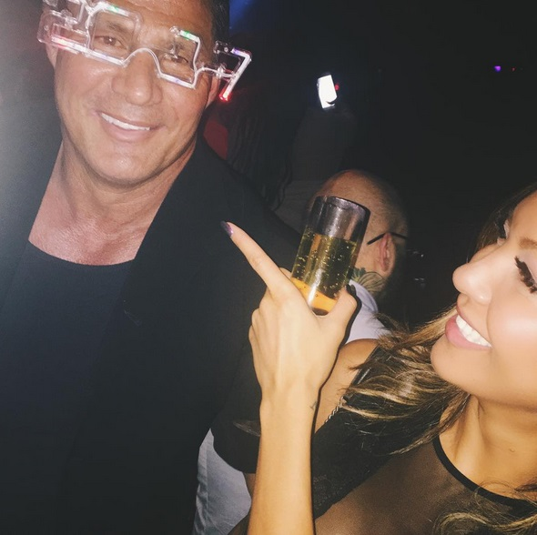 Jose Canseco was Crushing Vegas all Weekend Long