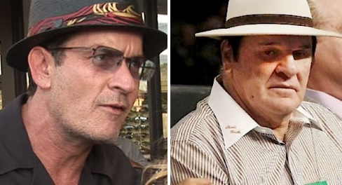 Charlie Sheen Gives Pete Rose his Endorsement