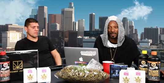 "Nick Diaz Joined Snoop Dogg on a recent episode of his ""GGN"" Web Series"