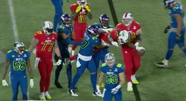 Jay Ajayi Gets Supermanned