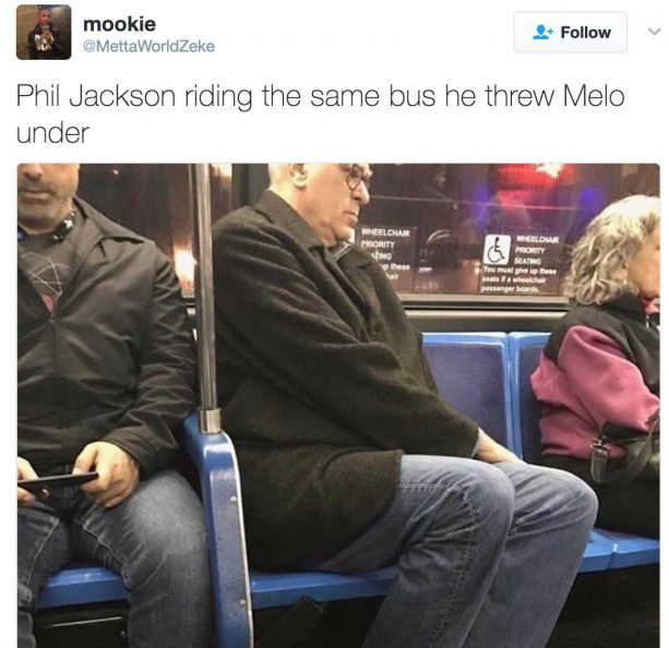 Phil Jackson Riding The Bus Is A Straight Mindf*ck