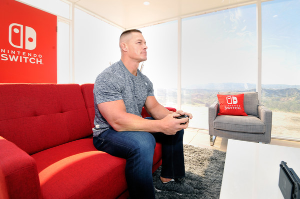 John Cena and His Large Hands Play Nintendo Switch