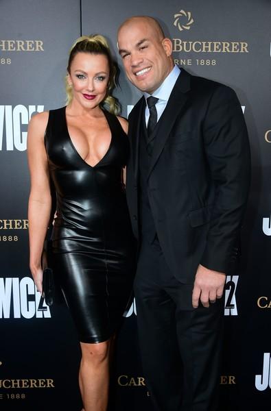 Tito Ortiz And His Sexy Girlfriend Catch a Premiere