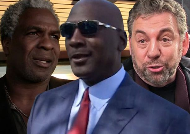 Michael Jordan Brokered Peace Treaty between James Dolan and Charles Oakley