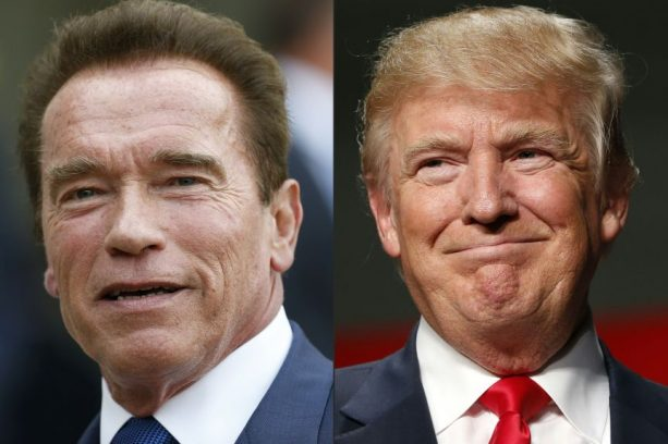 Donald Trump and Arnold Continue Their Beef