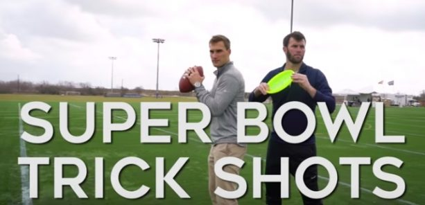 Kirk Cousins Shares New Catchphrase with Frisbee Trick Shot Artist Brodie