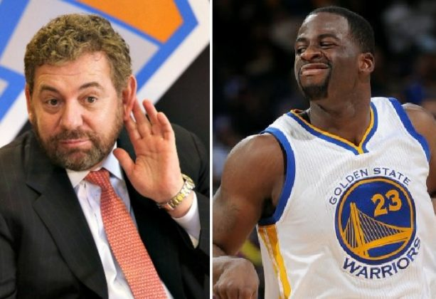 Draymond Green Calls out James Dolan for Having a Slave Master's Mentality