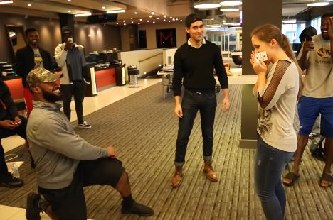 Magician Assists Former Oklahoma Star With Marriage Proposal