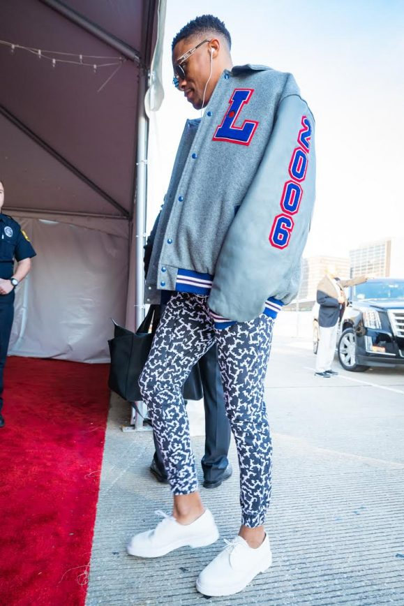 Russell Westbrook All Star Weekend 2017 Style Round Up