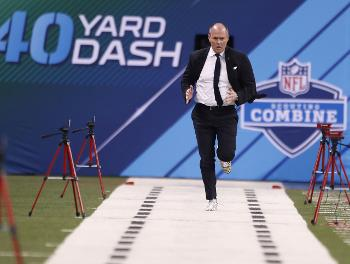 Rich Eisen Runs The Combine 40 For Charity