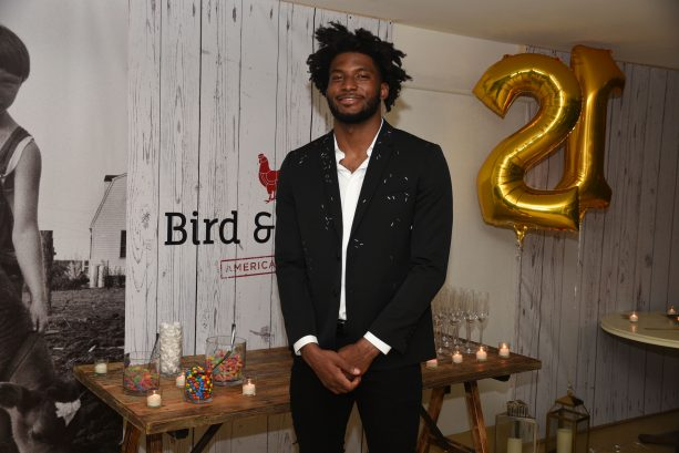 Justise Winslow Celebrates 21st Birthday with Justine Skye at The Confidante Hotel Miami Beach