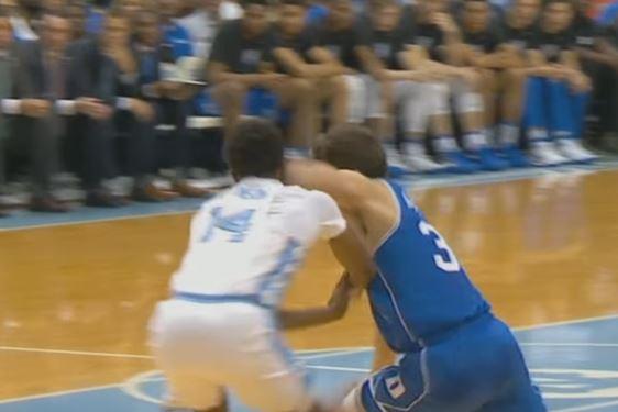 Grayson Allen T'd Up For Elbowing A Defender