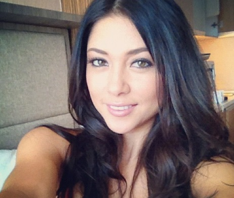 UFC Ring Girl Arianny Celeste goes TOPLESS in Tulum