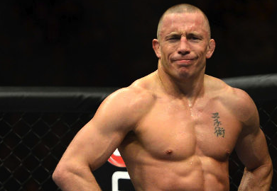 "Georges St. Pierre ""I Don't Care If My Opponent Smoke A Joint Before We Fight"""
