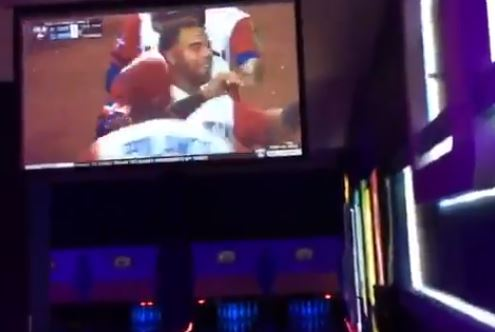 Big Papi Celebrated The Dominican Republic's Come From Behind Win At A Bowling Alley
