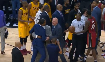 J.R. Smith And Dion Waiters Exchange Words After Cavs Loss