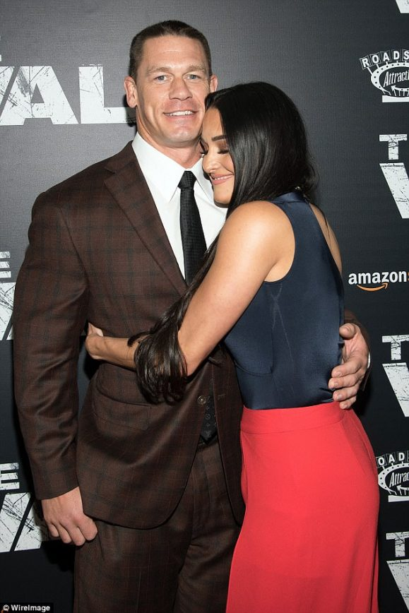 John Cena and his Bella Hit up His New Movie Premiere