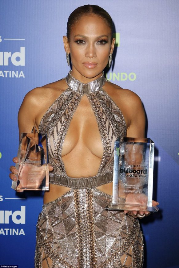 2aff36f2a83 A-Rod s Better Half Goes Commando for Billboard Latin Music Awards ...