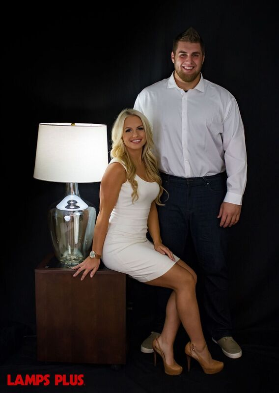 NFL Draft Propsect Puts his Girlfriend on Display