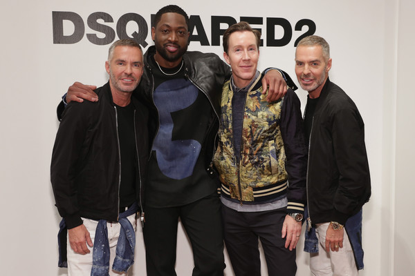 D-Wade All SUS'd Up at Saks Fifth Avenue Fashion Event