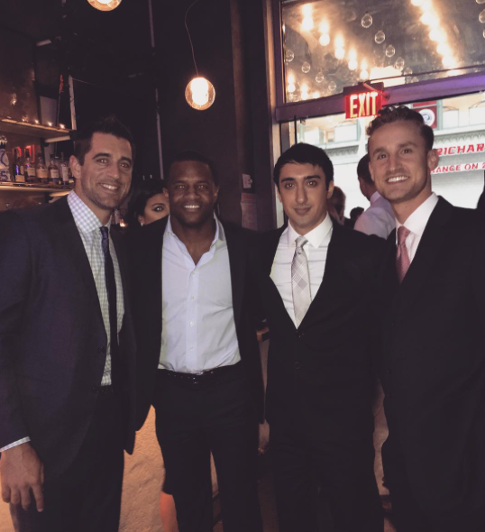 Randall Cobb Got Married This Weekend & Aaron Rodgers Was In The Bridal Party