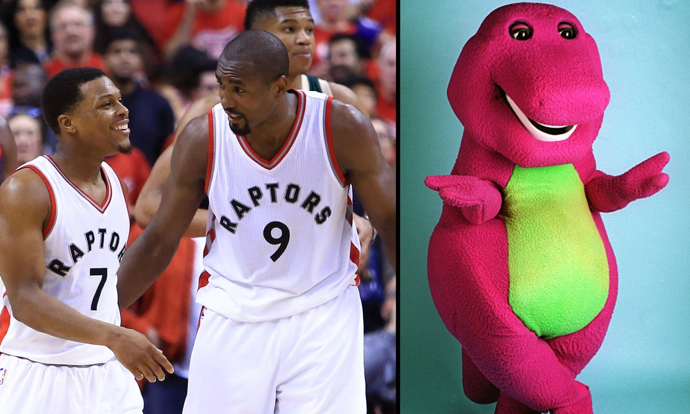 The Milwaukee Bucks Trolled the Raptors with 'Barney' Theme Song During Their Intros