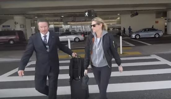 Erin Andrews Arriving at LAX Airport in Los Angeles