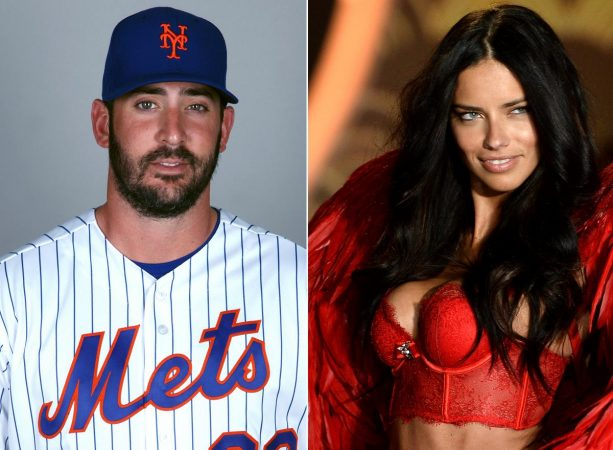 Matt Harvey and Adriana Lima Still Liking Each Other