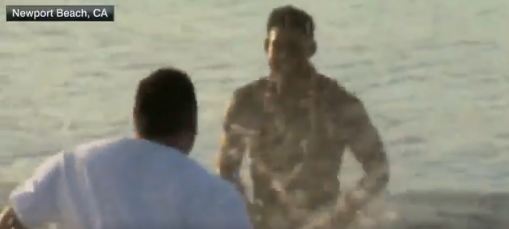 Juju Smith-Schuster Jumped Into The Ocean After Being Drafted By The Steelers