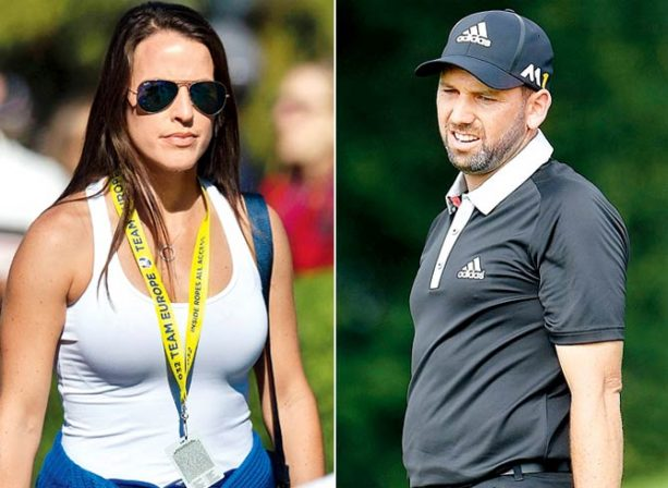 Golf Commentator Caught on the Hot Mic Talking about Sergio's Fiance's Skirt