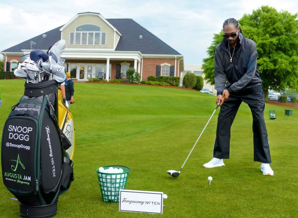 Snoop Dogg Brings Some Gin & Juice swag to Augusta
