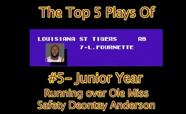 Leonard Fournette Top 5 Plays Tecmo Bowl Style