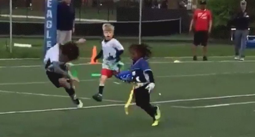 T.Y. Hilton's 4 Year Old Son Going Viral For His Ankle Breaking Flag Football Skills