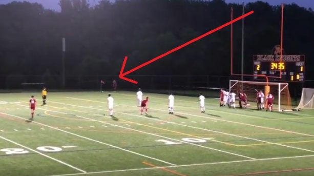 An Epic High School Corner Kick