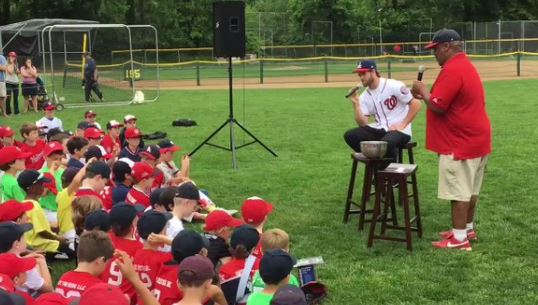 """Bryce Harper Tells A Bunch Of Kids Losing Is Not Okay """"No Participation Trophies"""""""