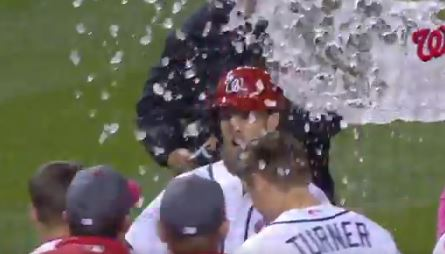Bryce Harper Celebrated His New Contract With A Walk Off Homerun