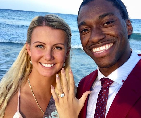 Robert Griffin III And Grete Sadeiko Are Engaged