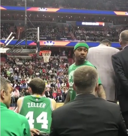 Isaiah Thomas to fan: 'I will f*ck you up and you know that'
