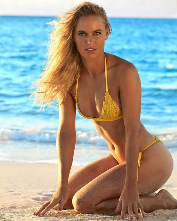 Caroline Wozniacki's ESPN Body Issue Cover is Nice