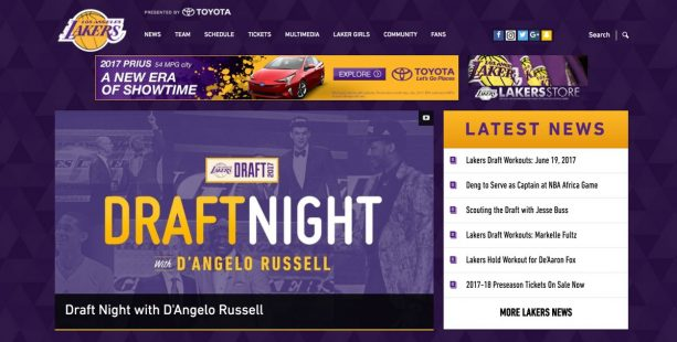 D'Angelo Russell To Host Lakers Draft Night LOL
