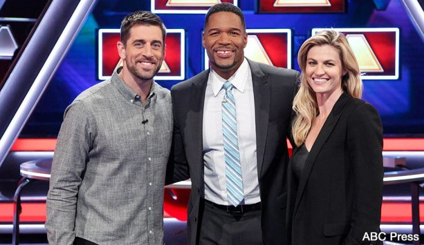 Aaron Rodgers to Battle Erin Andrews in The $100,00 Pyramid