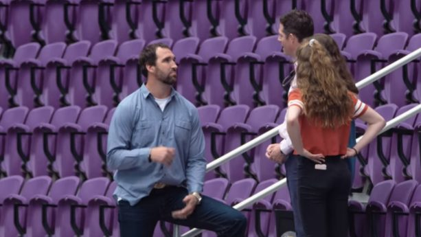 Jared Allen Gives a Father the Best Father's Day Surprise Ever