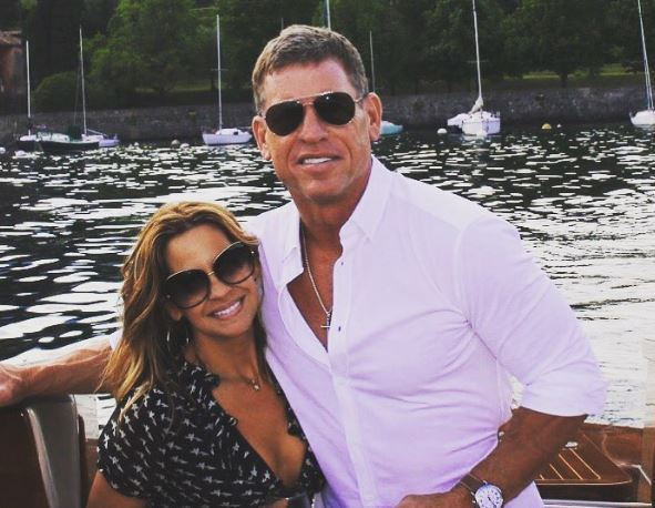 Troy Aikman Got Engaged On European Vacation