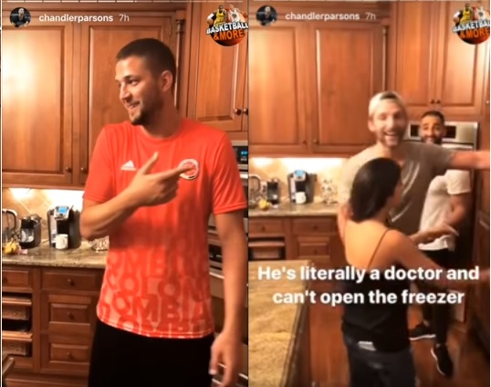 Chandler Parsons has a Fridge that Nobody Else Can Open