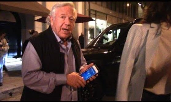 "New England Patriots Owner Robert Kraft At Craig's – ""I Like Margaritas!"""