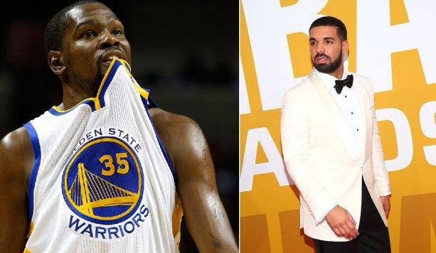 Drake Borrows Kevin Durant's Girlfriend For Red Carpet